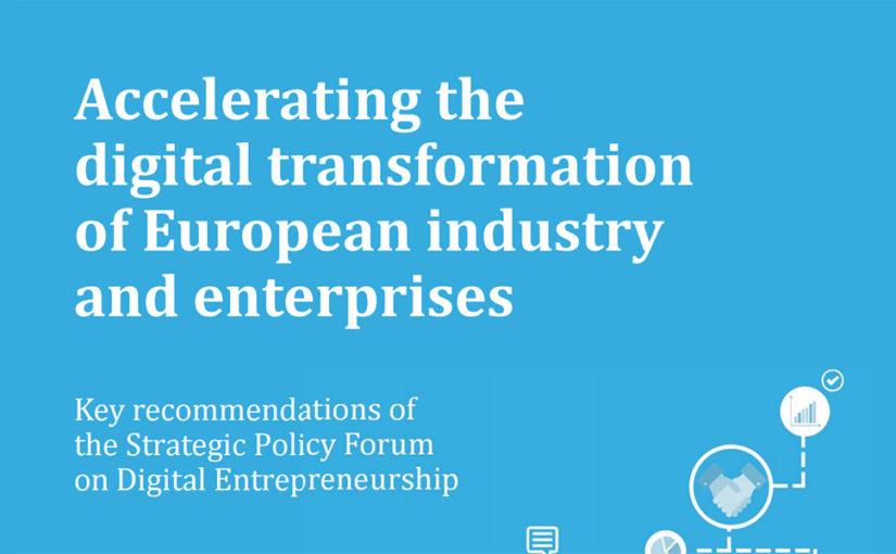 Digitale transformatie heeft tekort aan ondernemerschap en digitale kundigheid