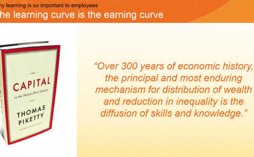 Learning is earning!